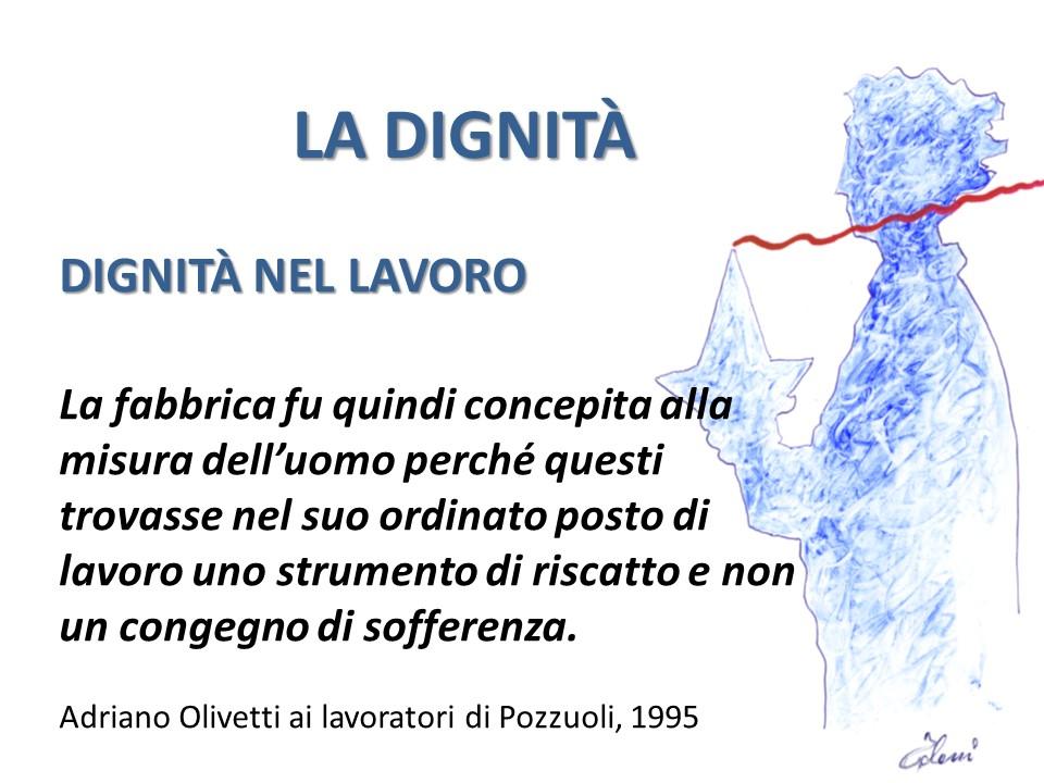 La dignità Adriano Olivetti
