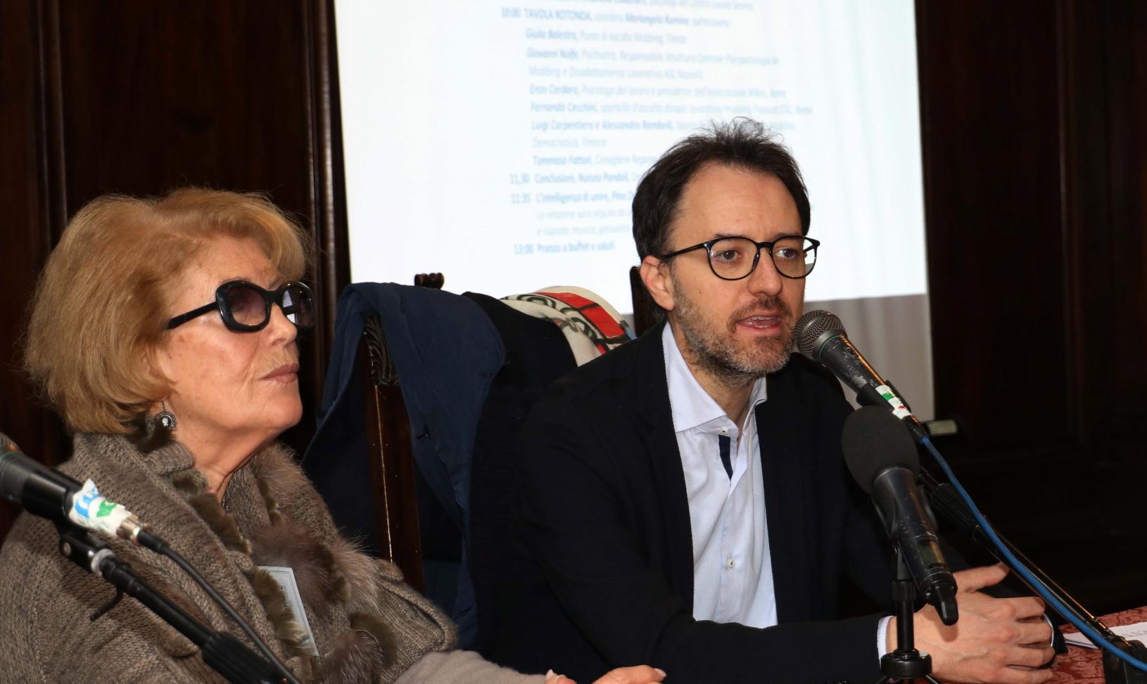 Assessore Gianassi e Alba Giovannetti